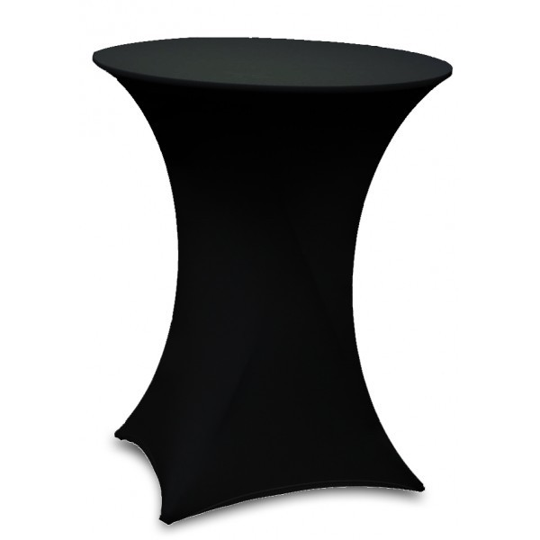 housse mange debout lycra noir uni falaise r ception. Black Bedroom Furniture Sets. Home Design Ideas