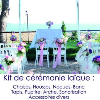 Kit de cérémonie laïque